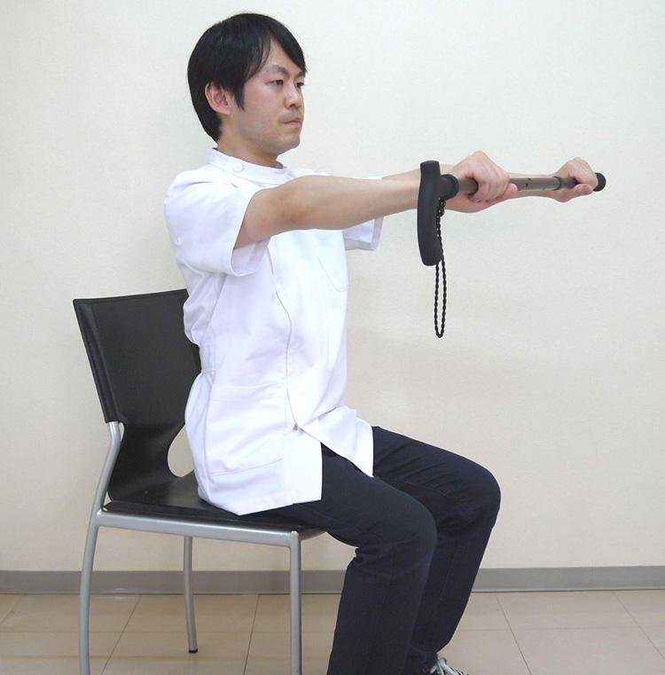 マルトク杖体操