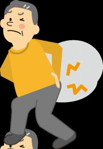 腰部脊柱管狭窄症イメージ